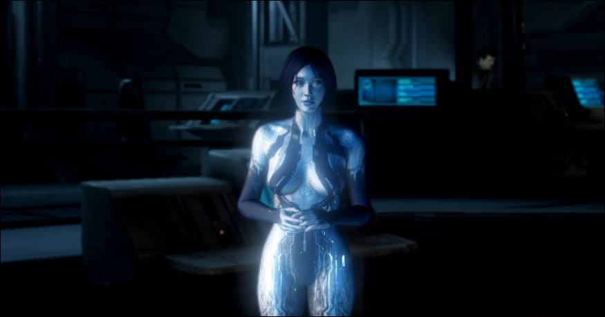 cortana ai hot naked