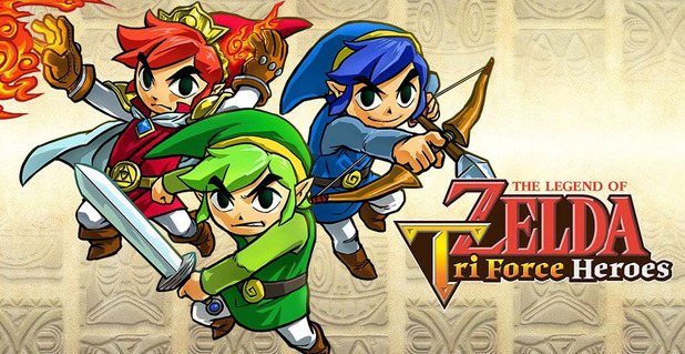 Triforce Heroes Demo Hitting eShop Tomorrow