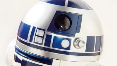 This life size R2-D2 refrigerator will bring food and drinks to you