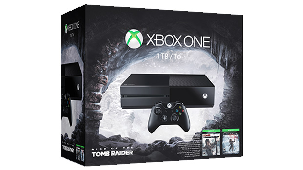 Xbox One Rise of the Tomb Raider Bundle