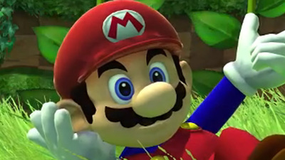 Super Mario takes over Sonic Generations