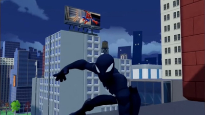 Black Suit Spider-Man figure confirmed for Disney Infinity 3.0