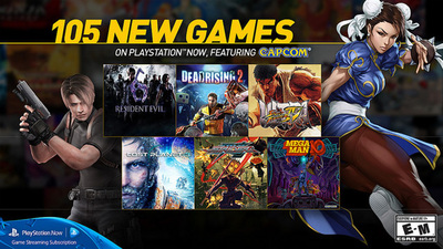 PlayStation Now subscription adds 105 new games