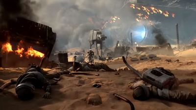 Star Wars Battlefront's 'Battle of Jakku' gets explosive in new teaser