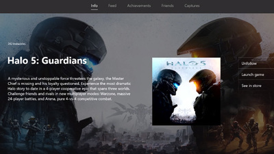 Take a look at the New Xbox One Experience's revamped Game Hubs