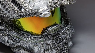 Master Chief's helmet gets blinged out by Microsoft for charity