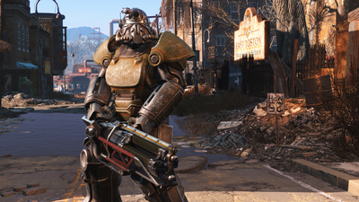 Embrace the breathtaking environment of Fallout 4's wasteland in these new screenshots