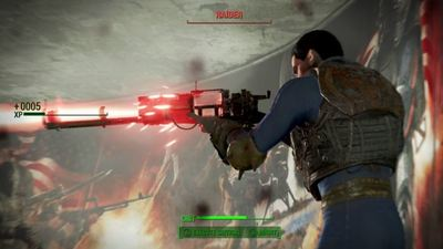 Fallout 4's gunplay was influenced by Destiny