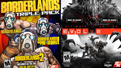 2K announces Borderlands, Evolve holiday bundles