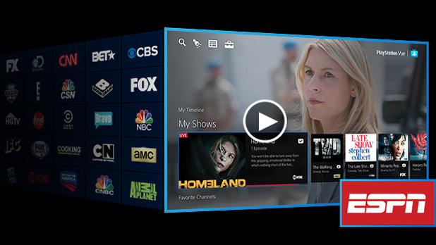 playstation vue adds espn abc and other disney owned networks. Black Bedroom Furniture Sets. Home Design Ideas