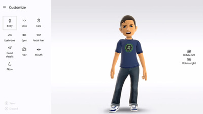New and improved Avatars return with the New Xbox One Experience next week