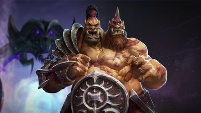 Heroes of the Storm's new character, Cho'Gall, is the most unique we've seen in a MOBA