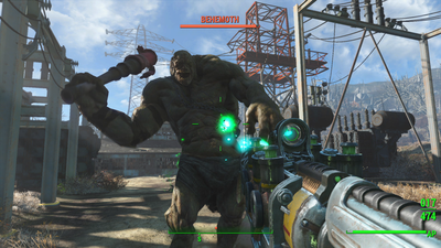 There's already a mod to enhance Fallout 4's graphics on PC