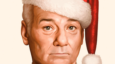Here's the poster for Netflix's A Very Murray Christmas