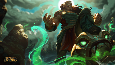 New League of Legends Champion revealed: Illaoi, the Kraken Priestess