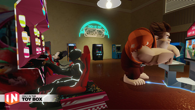 Disney Infinity 3.0 patch fixes Flynn's Arcade, adds new bosses and more