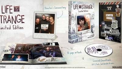 Life is Strange Limited Collector's Edition announced containing physical disc