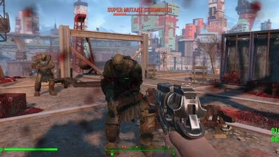 Fallout 4's framerate is inconsistant on both PS4, Xbox One