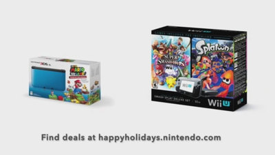 Nintendo teases holiday deals for Wii U and 3DS