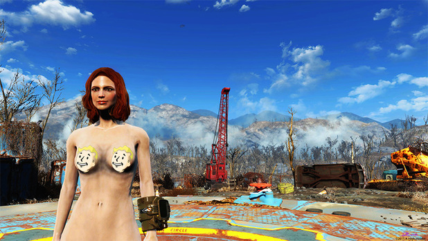 Three days after release, Fallout 4 has a nudity mod