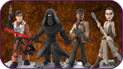 Star Wars The Force Awakens Disney Infinity Power Discs Revealed