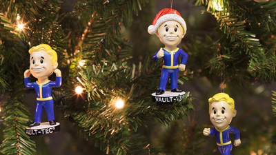 These Fallout 4 ornaments are a guaranteed boost to your Holiday Spirit perk