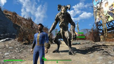 This Fallout 4 mod will let you have a Deathclaw companion