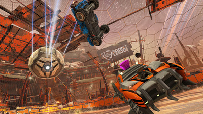 Rocket League's new DLC is like something out of Fallout