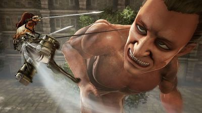 Attack on Titan game gets bloody fast-paced action trailer