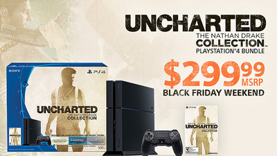 $299 Uncharted Nathan Drake Collection PS4 Bundle is here through Cyber Monday