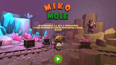 Puzzle game Miko Mole digs its way onto PS4 in the U.S.