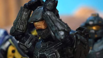 We finally got a look at what Master Chief keeps hidden under his helmet