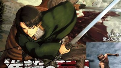 If you love Levi, these are the Attack on Titan PS4/PS3/PS Vita screenshots you want to see