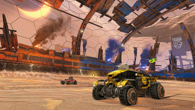 """New """"sleighs"""", holiday items and DLC hitting Rocket League next month"""