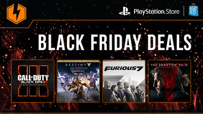 PSN Black Friday sale discounts AAA blockbusters