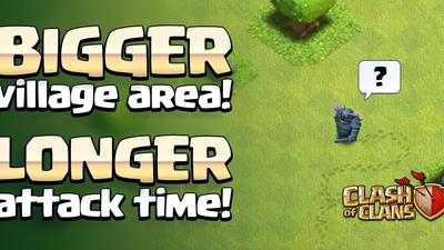 Clash of Clans update sneak peek #5: Larger Village Map