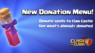 Clash of Clans update sneak peek: Spell Donations