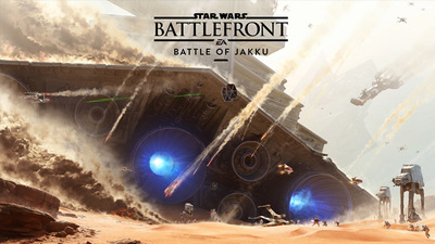 Star Wars Battlefront's free 'Battle of Jakku' DLC arrives tomorrow
