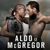 McGregor & Aldo fighting to be UFC 2 cover star / Twitter: Dana White