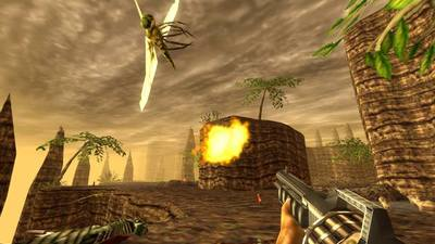 Feast your eyes radical action shots from the Turok remaster