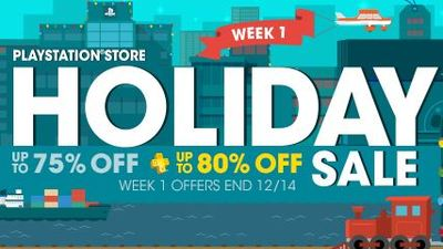 Save some cash with PSN's Holiday Sale