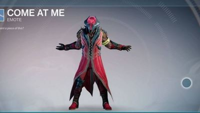 Destiny Emotes appearing as Nightfall loot