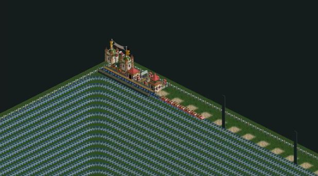 Rollercoaster Tycoon creates 210 real life day-long ride from hell