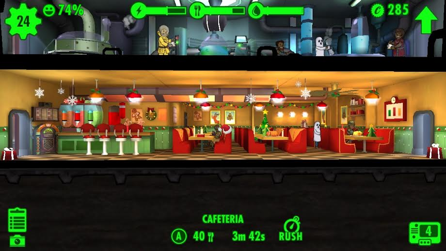 Fallout Shelter holiday decoration