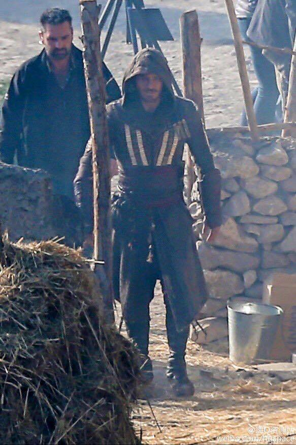 Michael Fassbender in Assassins Creed Movie