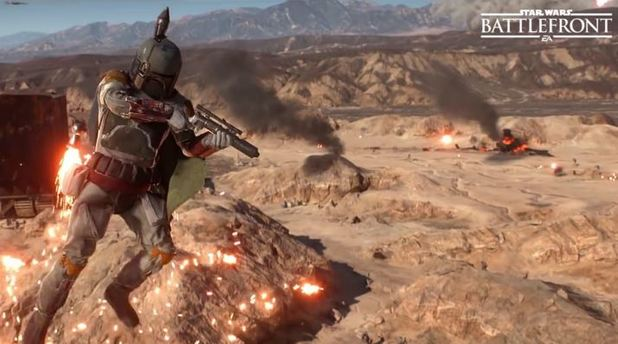 Boba Fett gets nerfed in upcoming Star Wars Battlefront Xbox One, PS4 patch