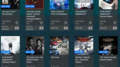 Week 2 of Holiday Sales on PSN is here