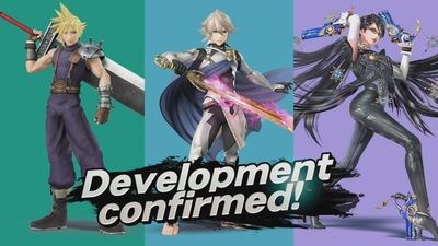 Cloud, Bayonetta and Corrine amiibo confirmed in development