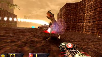 Turok remaster now available on PC today