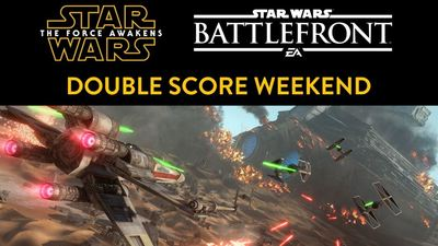 Star Wars Battlefront celebrates The Force Awakens release with double score weekend